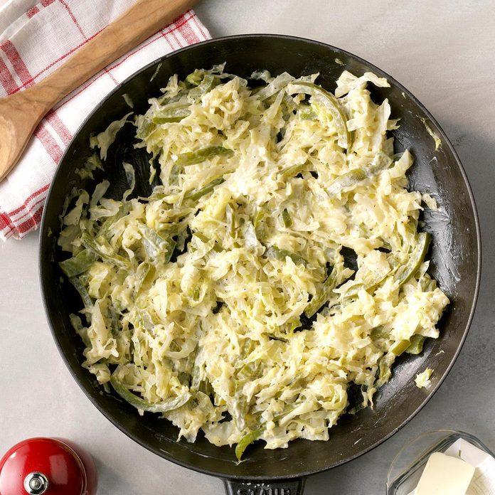 Skillet Cabbage