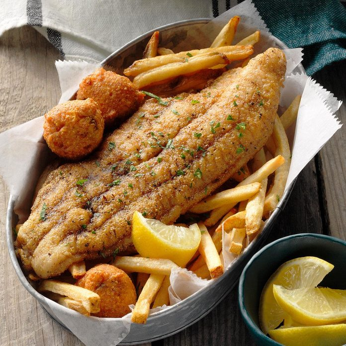 Skillet-Grilled Catfish