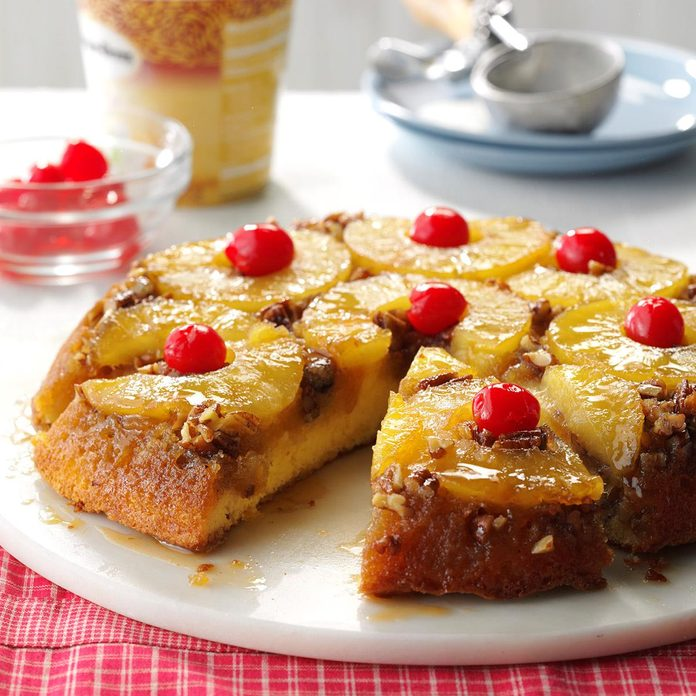 Skillet Pineapple Upside-Down Cake