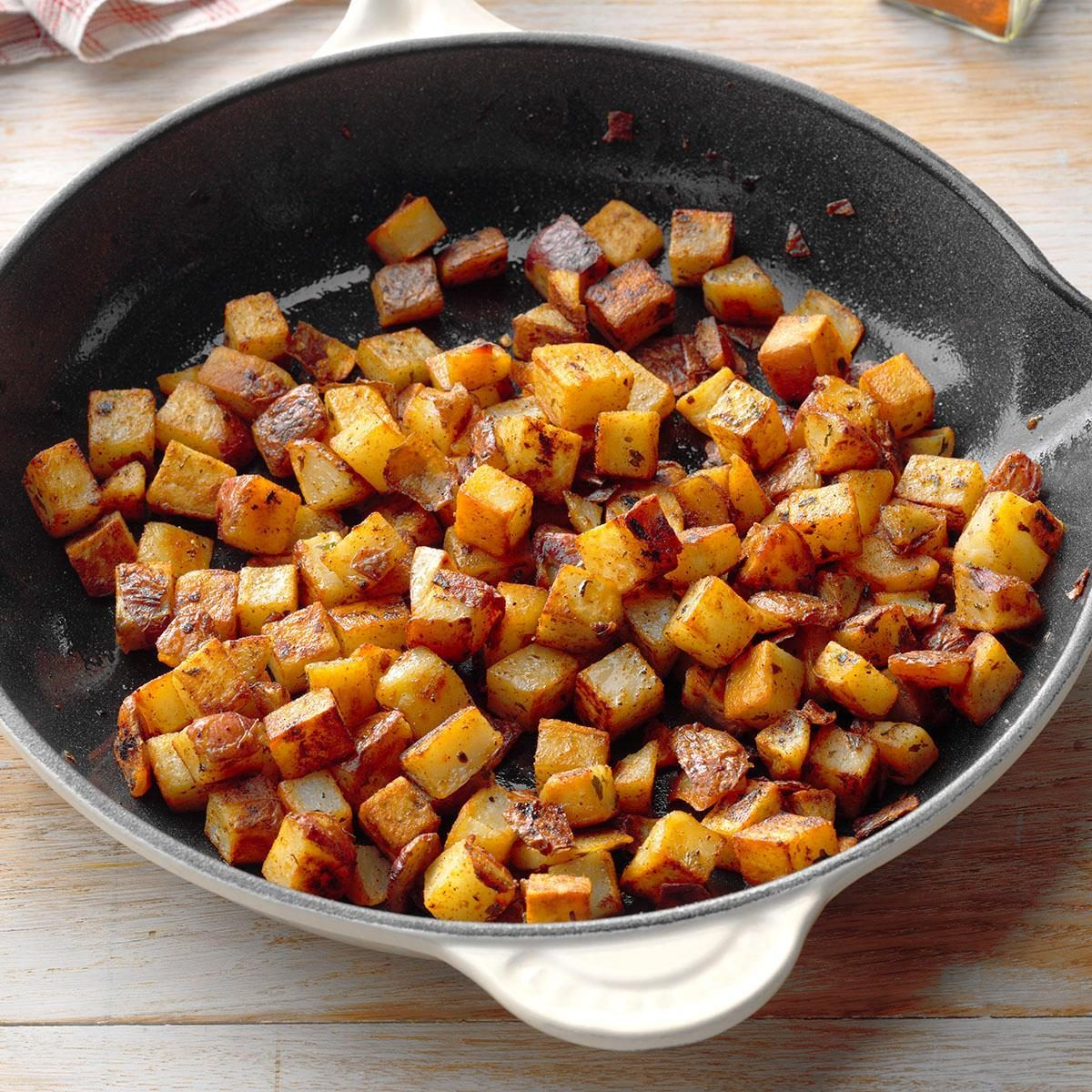 Skillet Red Potatoes Recipe