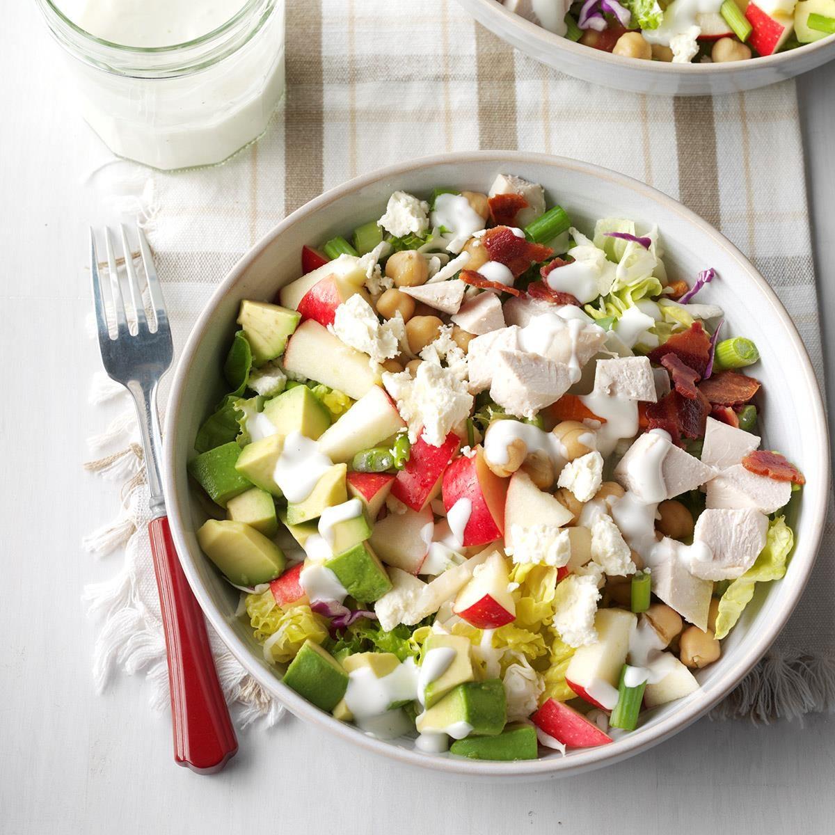 Main Ingredient Recipes: Skinny Cobb Salad Recipe