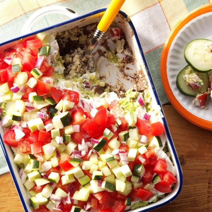 Skinny Quinoa Veggie Dip