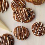 Slice & Bake Chocolate Pecan Cookies