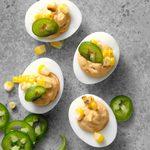 Slim Southwest Deviled Eggs