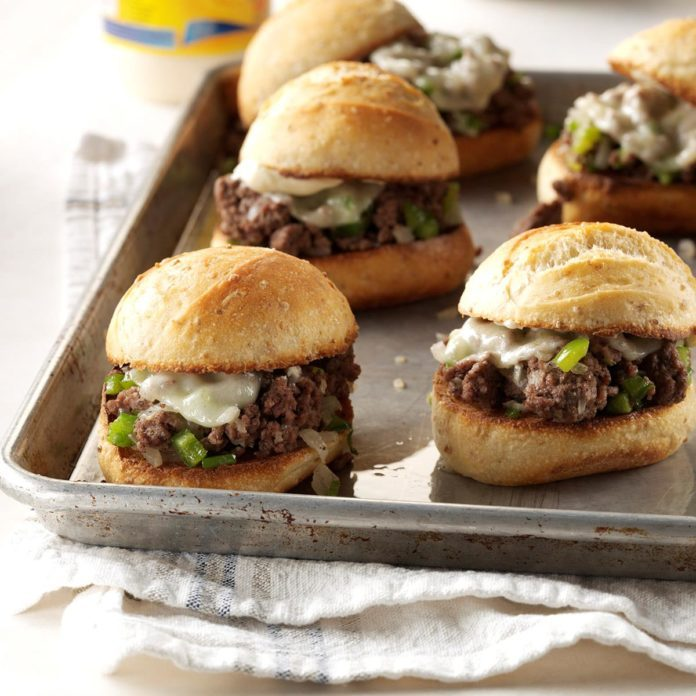 Sloppy Cheesesteaks