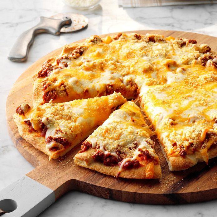 Day 7: Sloppy Joe Pizza