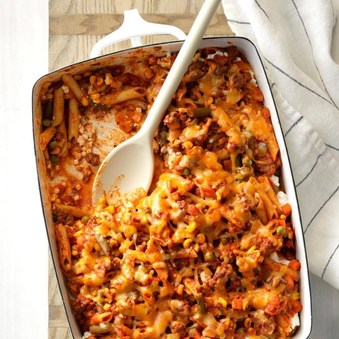 Sloppy Joe Veggie Casserole