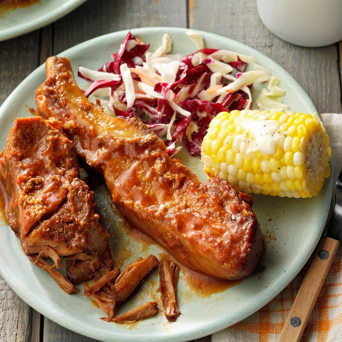 Slow-Cooked BBQ Pork Ribs