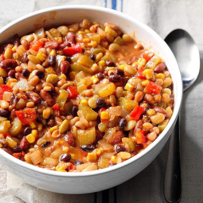 Slow-Cooked Bean Medley