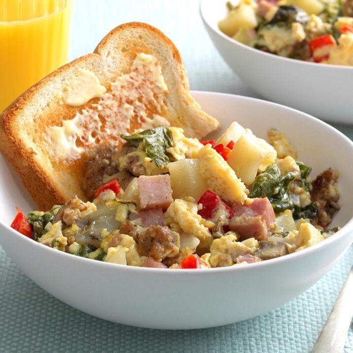 Slow-Cooked Big Breakfast