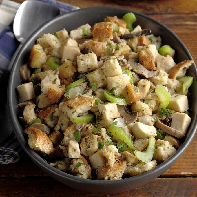 Slow-Cooked Chicken and Stuffing