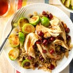 Slow-Cooked Cranberry Chicken