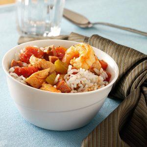 Slow-Cooked Hearty Jambalaya