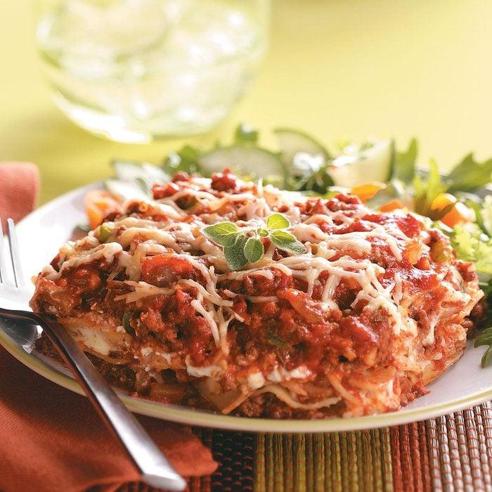 Slow-Cooked Lasagna