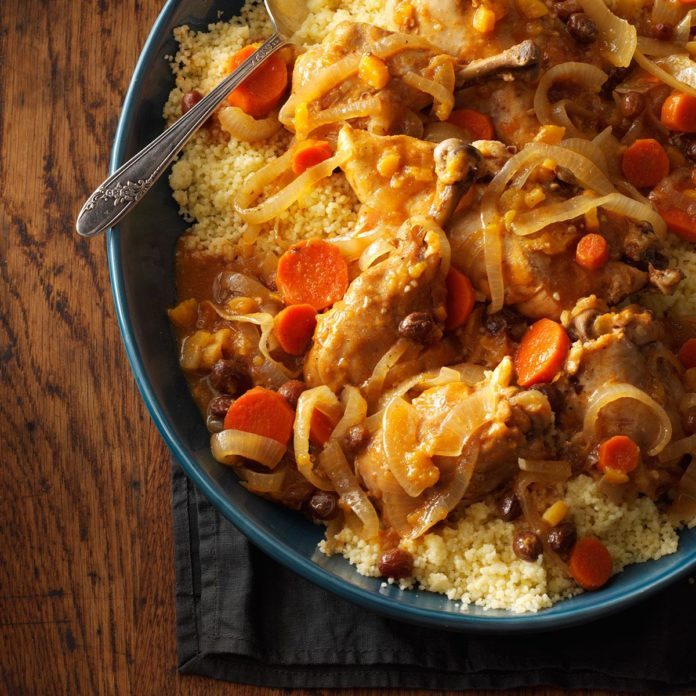 Morocco: Slow-Cooked Moroccan Chicken
