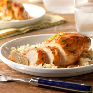 Slow-Cooked Orange Chipotle Chicken