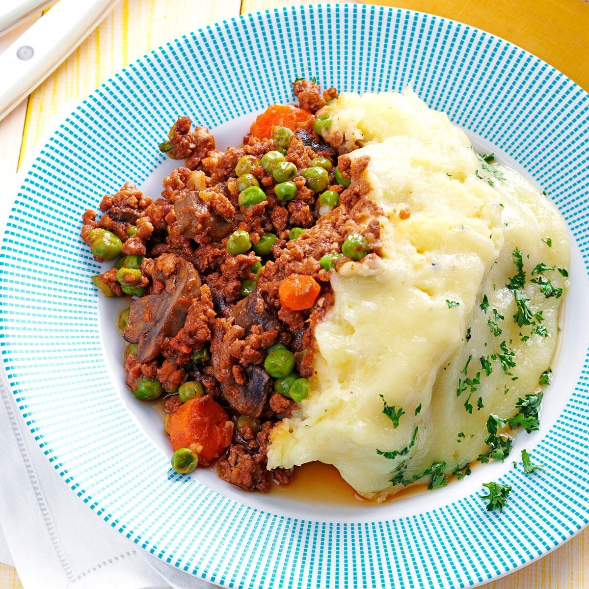 Slow-Cooked Shepherd's Pie