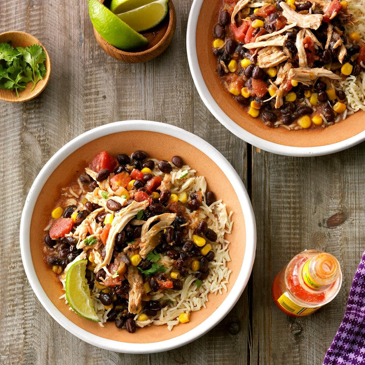 Slow Cooked Southwest Chicken Recipe How To Make It Taste Of Home