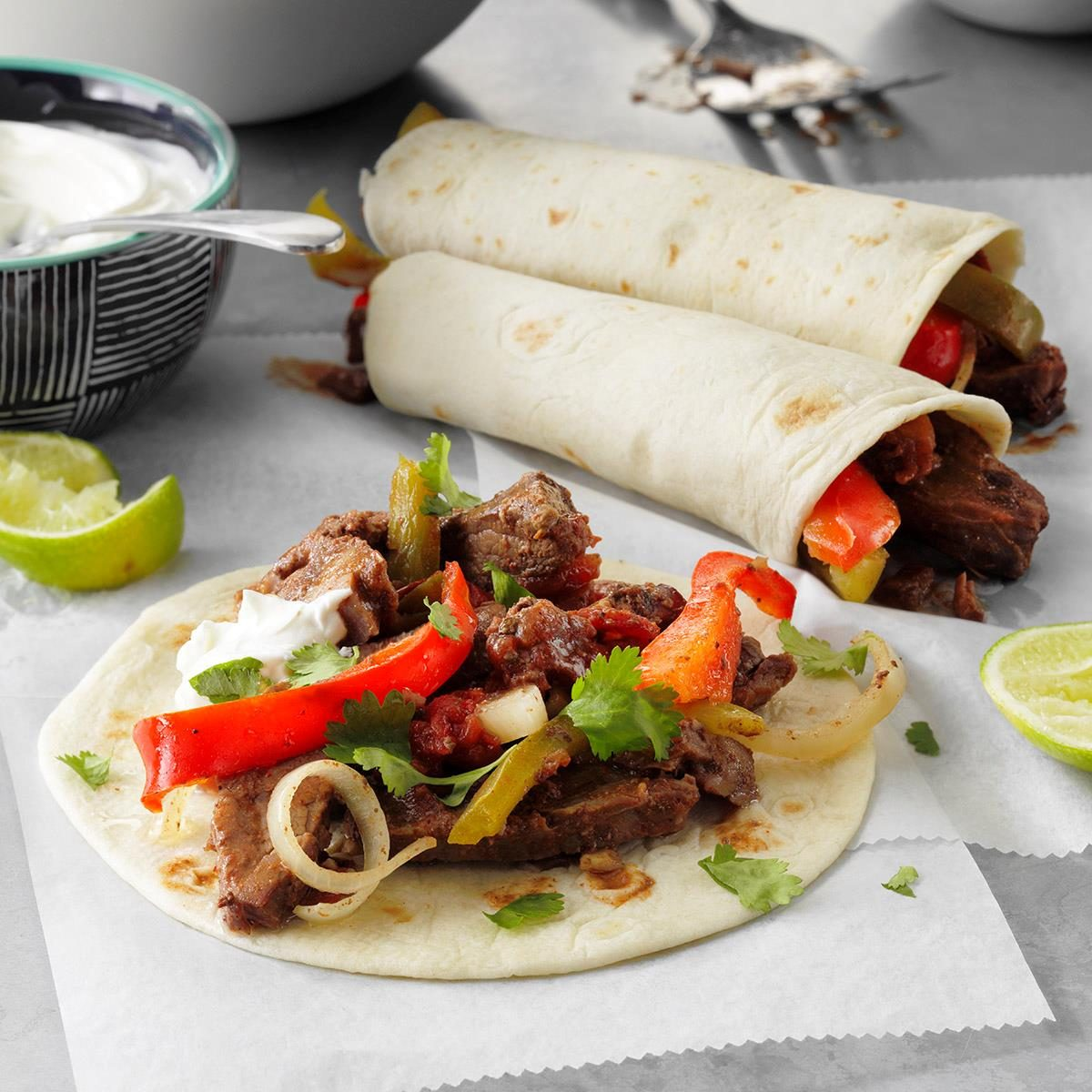 Slow Cooked Steak Fajitas Exps Scsbz21 17541 E01 21 4b 2