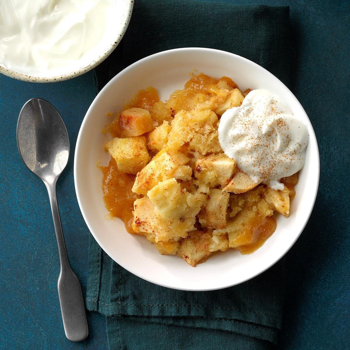 Slow-Cooker Apple Pudding Cake