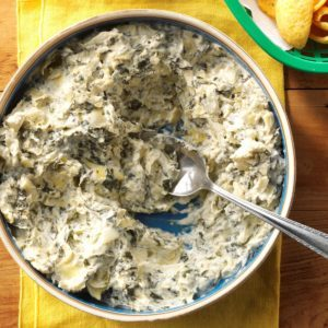 Slow-Cooker Artichoke-Spinach Dip