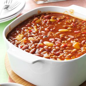 Slow Cooker Calico Beans