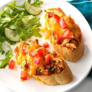 Slow-Cooker Chicken Enchilada Melts