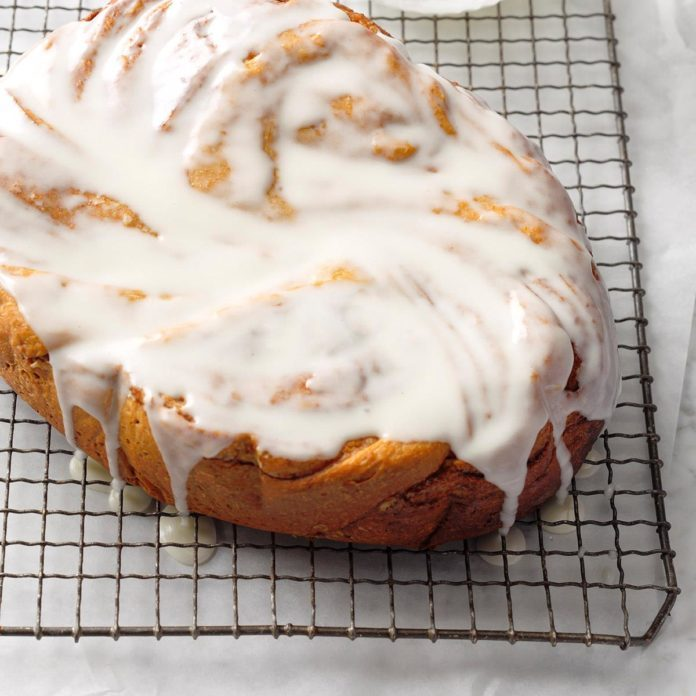 Slow-Cooker Cinnamon Roll