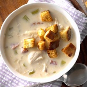 Slow-Cooker Cordon Bleu Soup