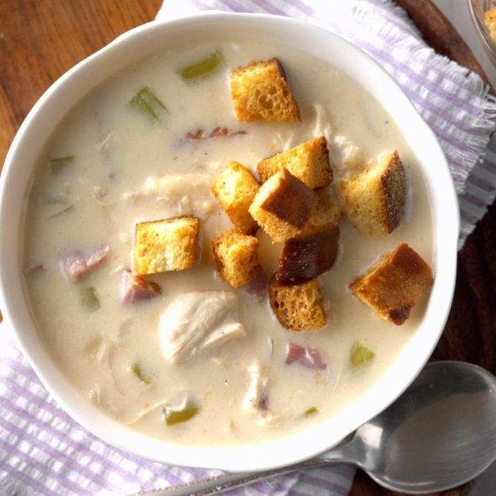 Slow Cooker Cordon Bleu Soup