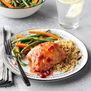 Slow-Cooker Cranberry Chicken