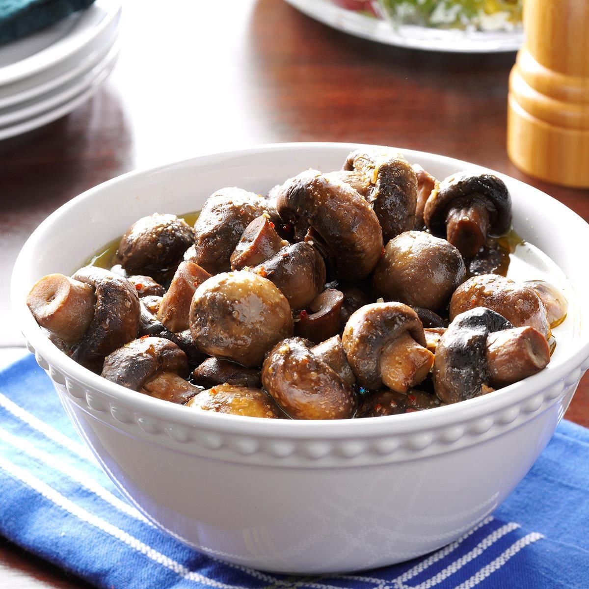Slow-Cooker Italian Mushrooms