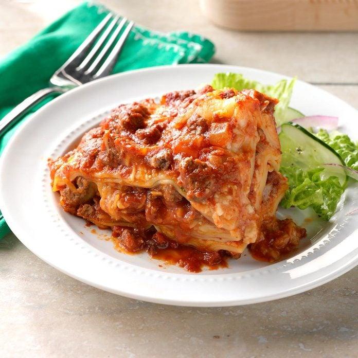 5: Slow Cooker Lasagna