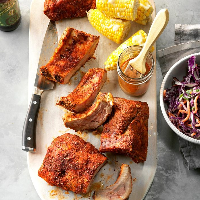 Slow-Cooker Memphis-Style Ribs