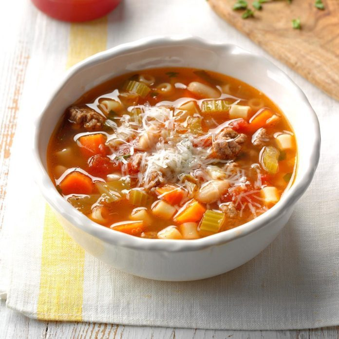 Inspired by: Pasta e Fagioli from Olive Garden