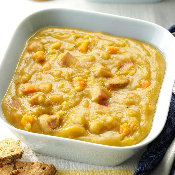 Slow-Cooker Pea Soup