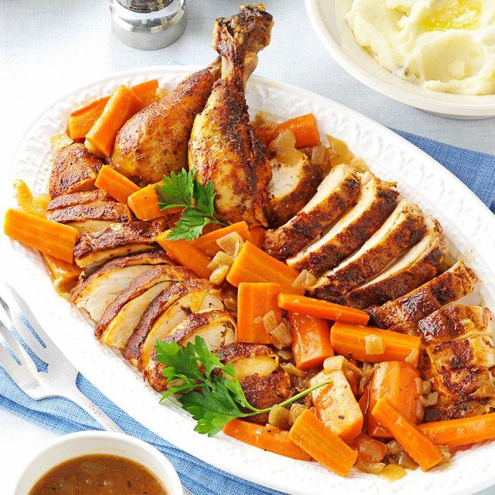 Slow Cooker Rotisserie-Style Chicken