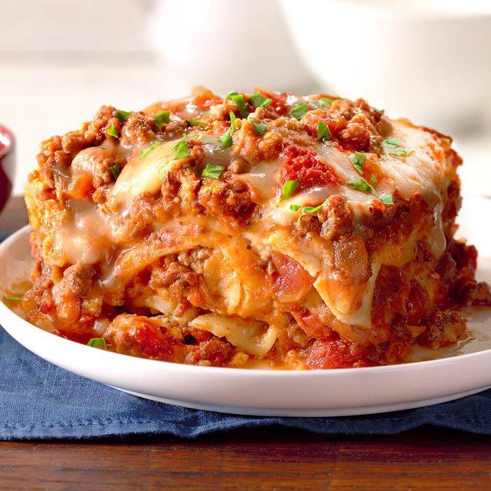 Alaska: Slow-Cooker Sausage Lasagna