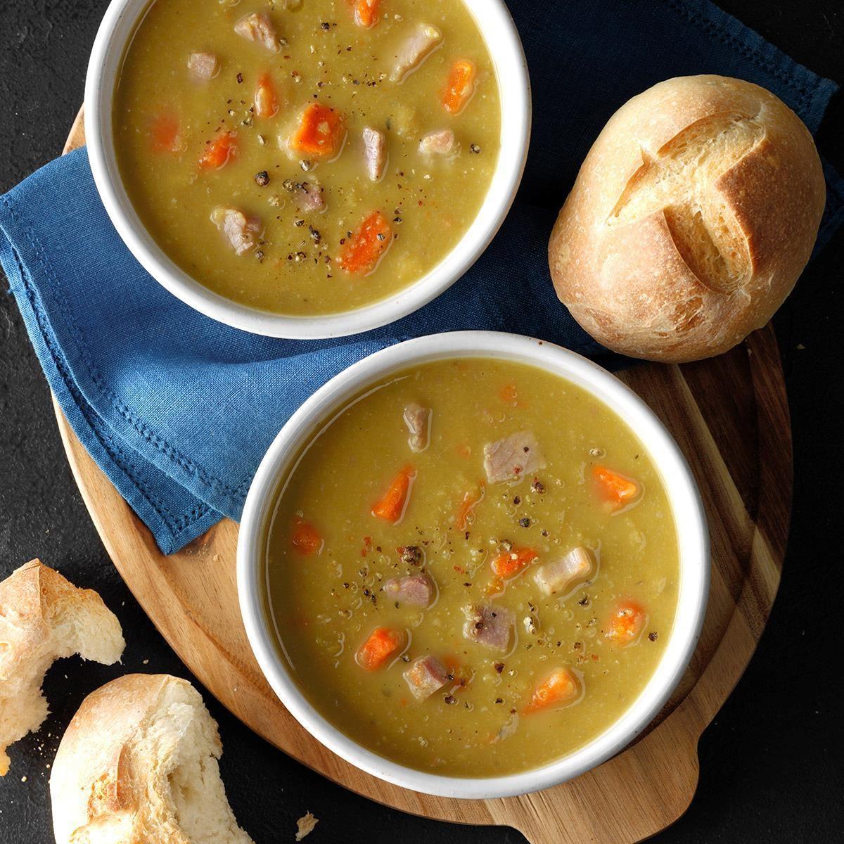 South Carolina: Slow-Cooker Split Pea Soup
