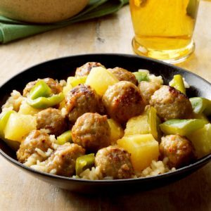 Slow-Cooker Sweet Sour Meatballs