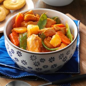 Slow Cooker Sweet-and-Sour Chicken