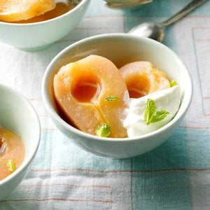 Slow-Cooker Tequila Poached Pears