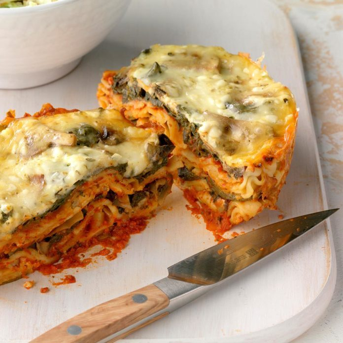 Day 7: Slow Cooker Veggie Lasagna