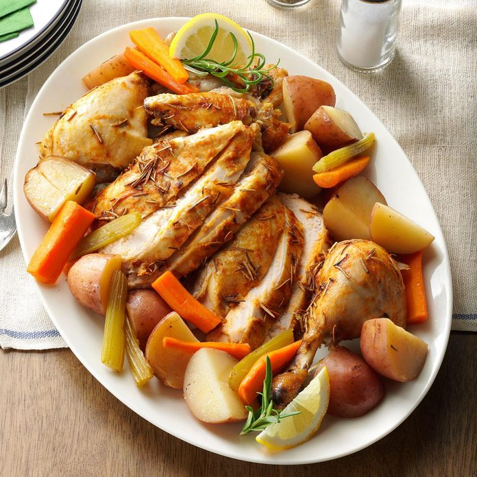 67: Slow-Roasted Chicken with Vegetables