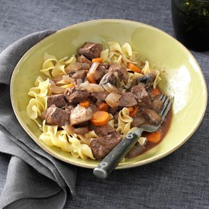 Slow-Simmering Beef Bourguignon