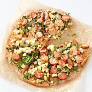 Smoky Sausage & Apple Pizza