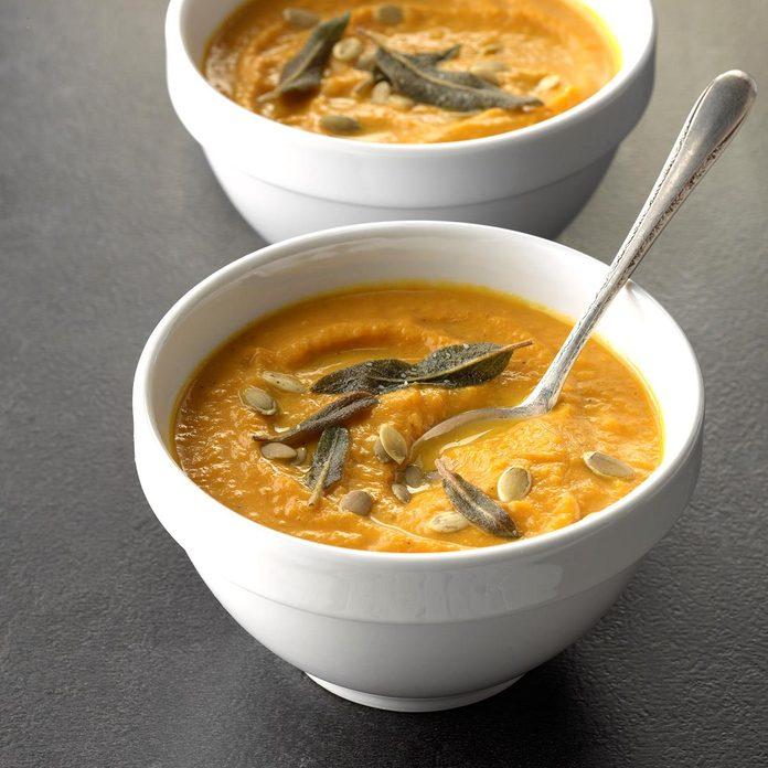 Smooth & Creamy Pumpkin Soup