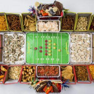 Instructions: How to Build the Ultimate Snack Stadium
