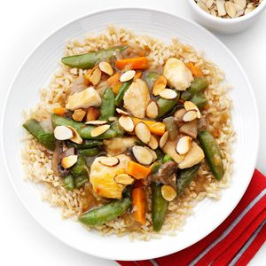 Snappy Chicken Stir-Fry