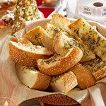 Snappy Garlic Bread